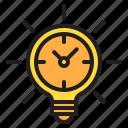 idea, time, timer, watch