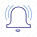 bell, notification, ring, ringing icon