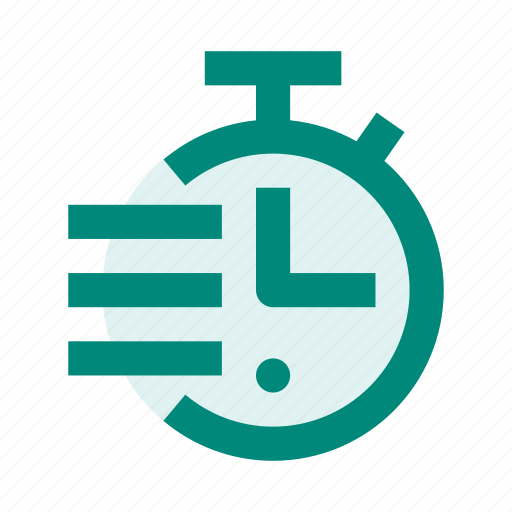 clock, note, run, stopwatch, time, timer icon