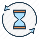 change, clock, hourglass, time, update, watch