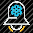 alarm, bell, stopring, timerlocksettingconfiguration icon