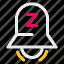 alarm, bell, stopring, timersleep icon