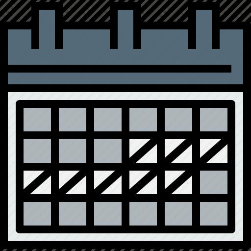 agenda, calendar, event, planning, time icon