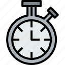 chronometer, clock, hour, minute, time icon