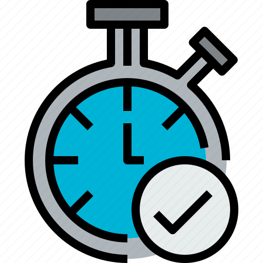 check, chronometer, clock, hour, minute, time icon