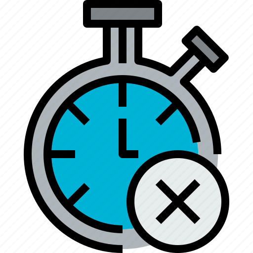 chronometer, clock, hour, minute, time, x icon