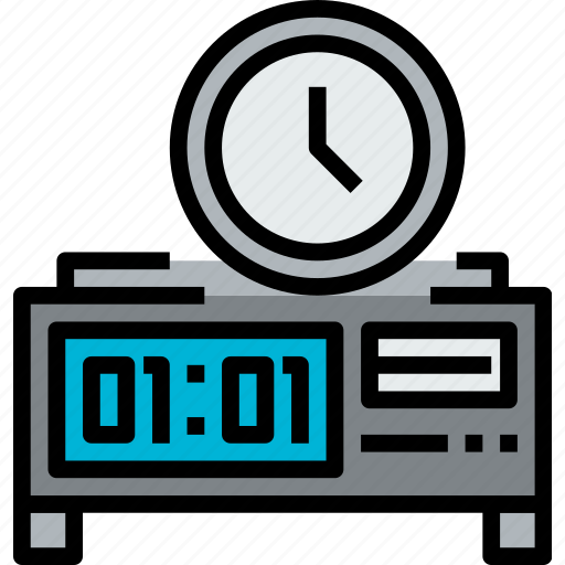 clock, dagital, hour, minute, time, watch icon