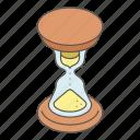 glass, hour, hourglass, isometric, logo, object, sandglass