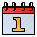 calendar, date, event, new, schedule icon