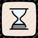 clock, wait, hourglass, time, sand watch