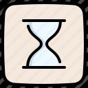 clock, wait, timer, hourglass, sand watch