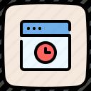 browser, website, internet, time, web page