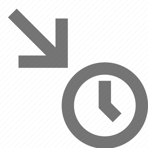 clock, in, material, schedule, time, timetable icon