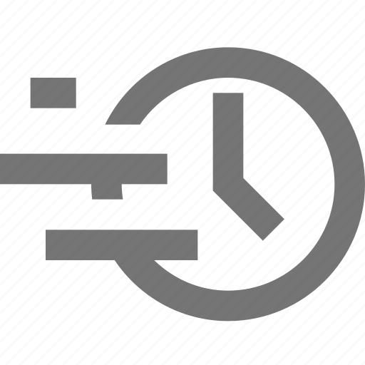 clock, deadline, fast, material, time, timer icon