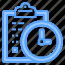check, deadline, development, happy, lesson, list, together icon