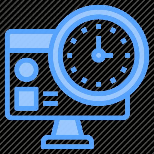 computer, deadline, development, happy, lesson, organization, together icon