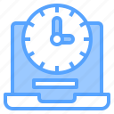 deadline, development, happy, laptop, lesson, organization, together icon
