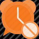 alarm, clock, disable, sound, time icon