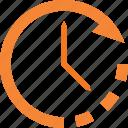 clock, clockwise, set, time, turn icon