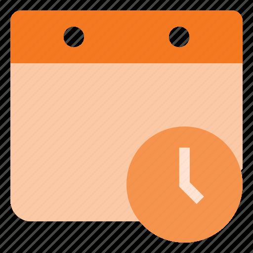 calendar, clock, event, reminde, time icon