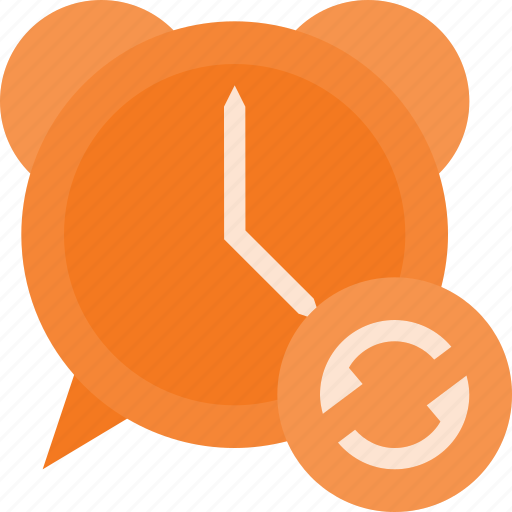 alarm, clock, recurent, renfresh, repeat, time icon