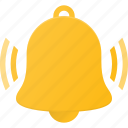 alert, bell, set, sound, time icon