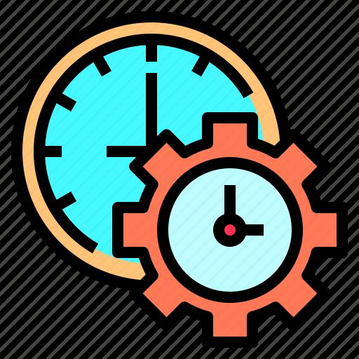 clock, deadline, development, happy, lesson, organization, together icon