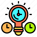 deadline, development, happy, idea, lesson, organization, together icon