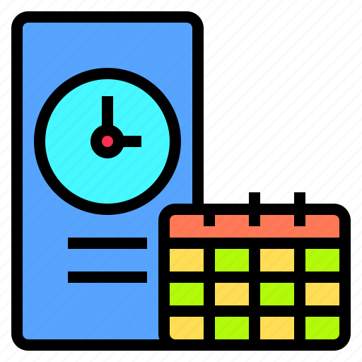 deadline, development, happy, lesson, organization, smartphone, together icon