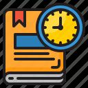 book, time, management, clock, watch