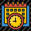 calendar, time, management, clock, watch