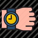 watch, time, management, clock, hand