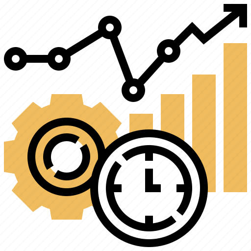 Data, analysis, efficiency, information, analytic icon