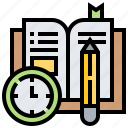 book, document, documentary, note, record icon