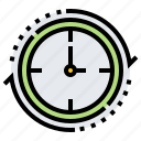 clock, hour, passing, schedule, time icon