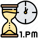 clock, management, punctually, time icon