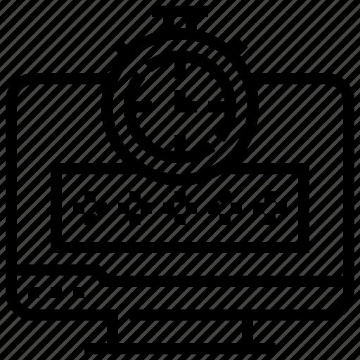 encoding, password, protection, security icon