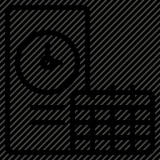 deadline, development, happy, lesson, organization, smartphone, together icon