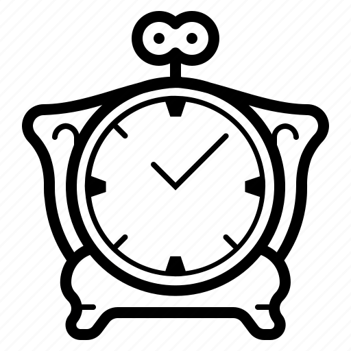 clock, old, retro, time, vintage, watch icon