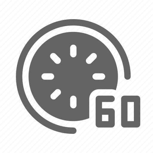 hour, minute, second, timer icon
