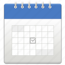 calendar, count, date, month, year icon