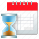 count, date, time, timer icon
