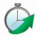 color, passage, second, time, timer icon