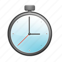 count, stop, stopwatch, timer, watch icon