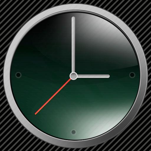 clocks, dark, office, time, timer icon