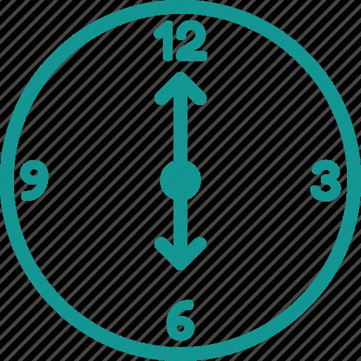 clock, six, six o clock, time, time zone, watch icon