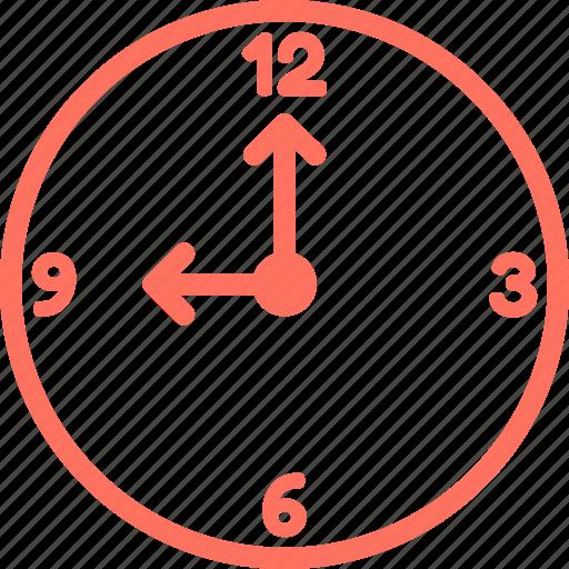 clock, nine, nine o clock, time, time zone, watch icon