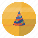 birthday, cap, celebrate, celebration, fest, hat icon