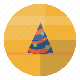 birthday, cap, celebrate, celebration, fest, hat icon