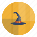halloween, hat, helloween, magic, witch, wizard icon
